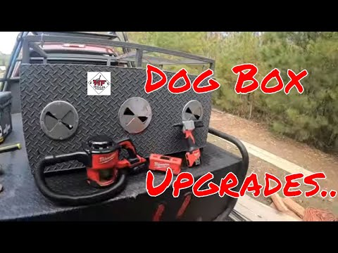 Dog Box Upgrades With Milwaukee M12 & M18 Tools