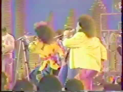 Soul Train 85' Performance - The Jets - Crush On You!