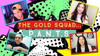SETHDREA & KYCINE PLAY THE P.A.N.T.S GAME | The Gold Squad