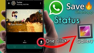 How To Download Whatsapp Status In One Click - No Root  🔥 screenshot 5