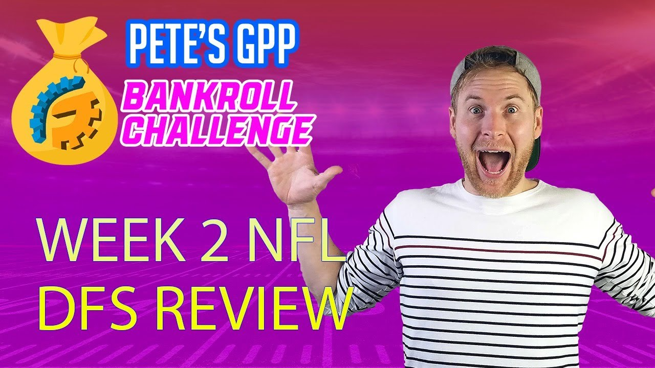 WE SMASHED IN THE SPY (18th 🏆) - WEEK 2 DRAFTKINGS DFS LINEUP REVIEW