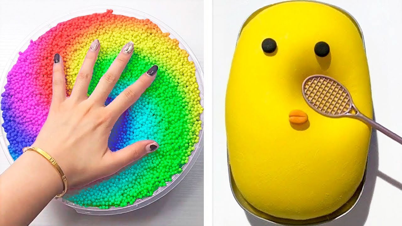 Oddly Satisfying & Relaxing Slime Videos #516 | Aww Relaxing