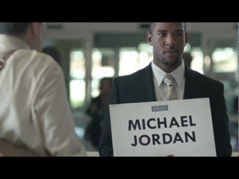 Very Funny ESPN Michael Jordan Commercial -- It's Not Crazy, It's Sports