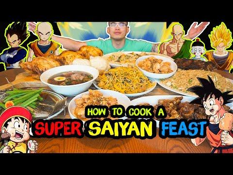 How to cook a SUPER SAIYAN FEAST