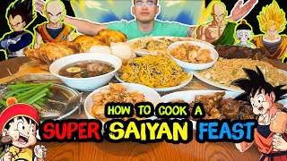 How to cook a SUPER SAIYAN FEAST