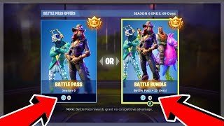 Get Season 6 Battle Pass for FREE in Fortnite Battle Royale (PS4 & Xbox One)
