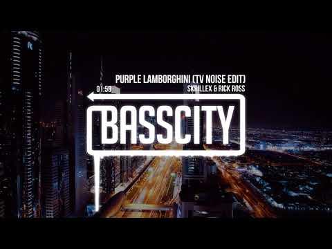 Skrillex & Rick Ross - Purple Lamborghini (TV Noise Edit)