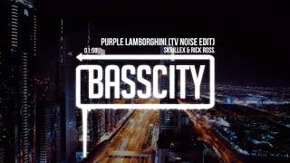 Skrillex & Rick Ross - Purple Lamborghini (TV Noise Edit)