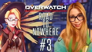 Overwatch Road to Nowhere - Playing on EU Servers - S3 Overwatch Competitive Gameplay #3
