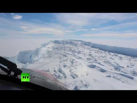 4x bigger than London: Larsen C iceberg breaks free of Antarctica