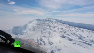 4x bigger than London: Larsen C iceberg breaks free of Antarctica thumbnail