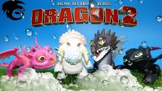 How to train your dragon series Toy Epic battle mini dragon set