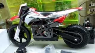 UNBOXING MY NEW 1/4 Scale IRONTRACK MX400 Radio Control 2.4Ghz Electric RC RTR Motocross Motorcycle