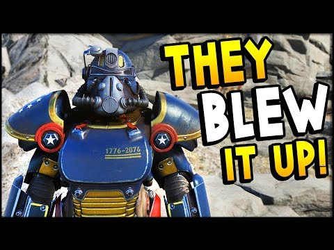 Fallout 76 - The Enclave Blows Up A Town! Enclave Events (Fallout 76 Gameplay Part 9) thumbnail