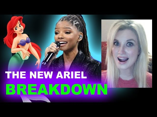 Halle Bailey is Ariel - Live Action Little Mermaid