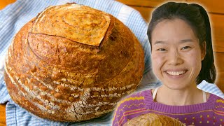 How To Make Perfect Sourdough Bread At Home (Starter Included!) | By June