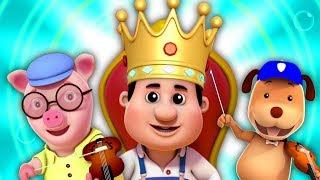 O Velho Rei Cole   Rimas de berçário   Rimas Para Crianças   Old King Cole   Nursery Rhymes For Kids
