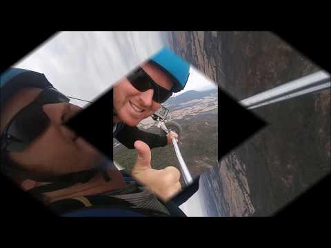 Guy Andelman - Hang Gliding Flight In Ben Nevis (Mt. Cole National Park), Victoria, Australia