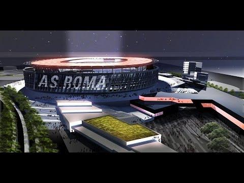 Stadio Della Roma   New As Roma Stadium