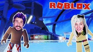 Roblox: NINA + KAAN IN THE BIGGEST WATER PARK AT ROBLOX WITH HEFTIGE RUTSCHEN! Robloxian Waterpark Fun
