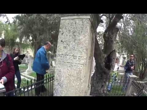 List of famous people who are buried in Mount Zion Protestant Cemetery (Jerusalem) Israel