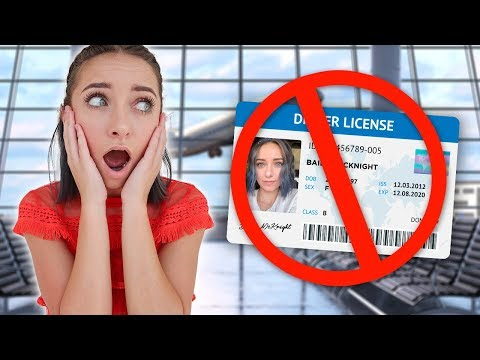Bailey FORGETS Her Driver's License, Will She Make Her Flight?? thumbnail