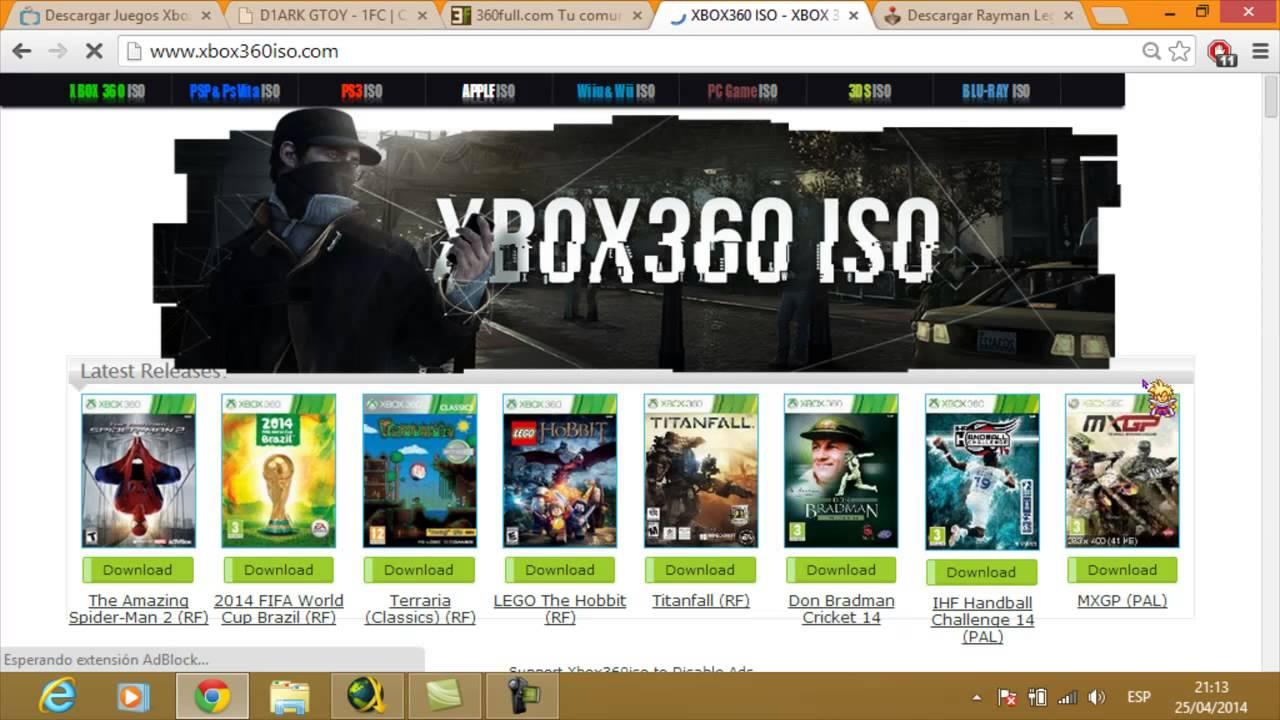 Las Mejores Paginas Para Descargar Juegos De Xbox 360 2014 Youtube