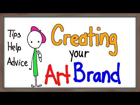 How to create an ART Brand  Art as a Job 101