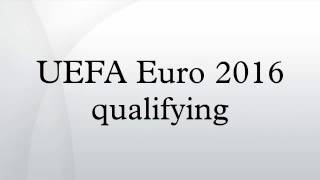 UEFA Euro 2016 qualifying