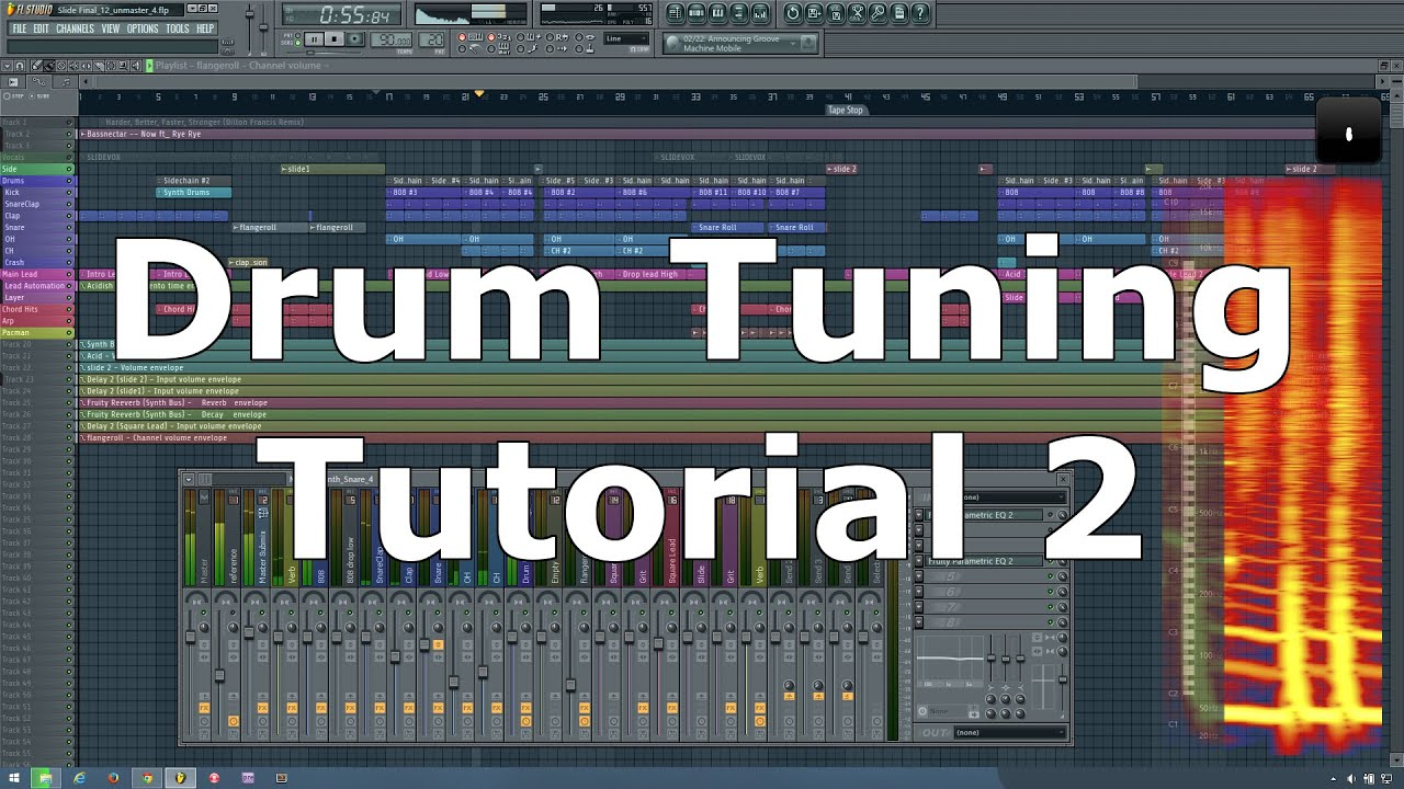 fl studio how to make rhythmic drums