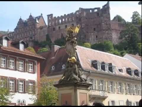 Downtown Heidelberg, Germany