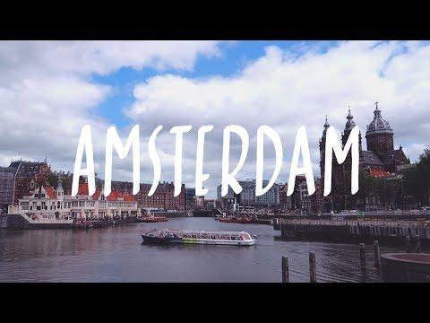 Travel Vlog • Amsterdam Day 1 🇳🇱 암스테르담 여행 첫째날 (중앙역, 감자튀김 맛집, 크루즈 투어)