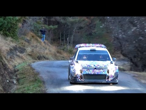 Tests Lefebvre - Day 2 - Rallye Monte-Carlo 2017 C3 WRC [HD]