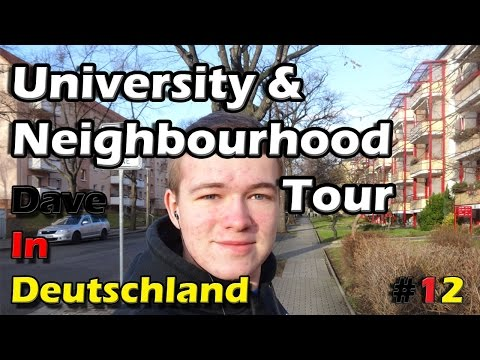 Dresden University & Neighbourhood Tour | ep.12 Dave In Deutschland - A Year Abroad Blog
