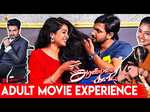 😳 First Adult Movie : Monisha Arshak & Surya Darshan Reaction | Aranmanai Kili Interview | Vijay Tv
