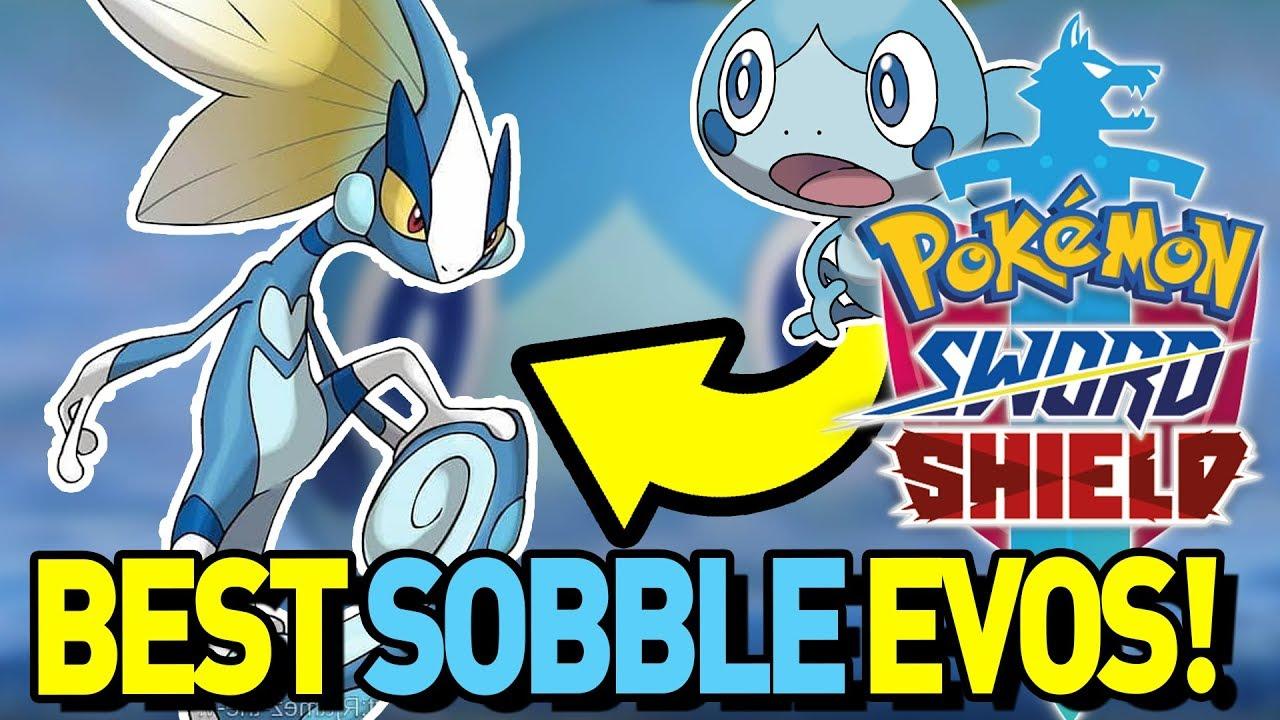 Sobble Evolution Insane Best Sobble Evolutions For Pokemon Sword
