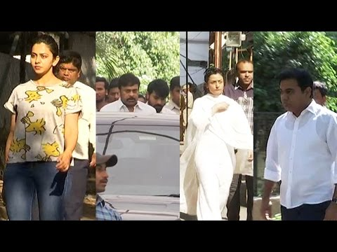 Celebrities pay homage to Anitha Reddy (Dil Raju's wife) - Chai biscuit