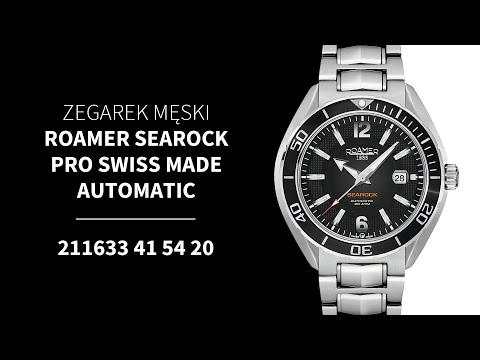 Zegarowia.pl ZEGAREK MĘSKI ROAMER SEAROCK PRO SWISS MADE AUTOMATIC