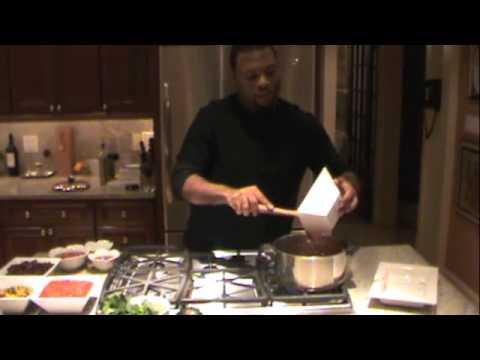 Daniel Fast Cooking Episode 1 with Chef Judson Todd Allen www.JudsonToddAllen.com
