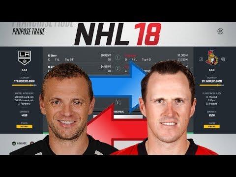 NHL 18 - GABORIK FOR PHANEUF TRADE SIMULATION