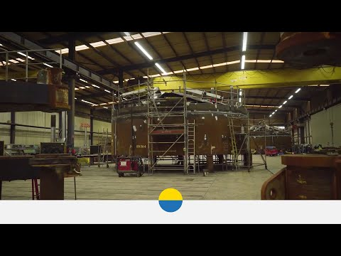 EOWDC Aberdeen – Suction Bucket Jacket Fabrication – Vattenfall
