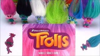 Dreamworks Trolls Series 2 Blind Bag Help Names Fun Toy Bags Opening Surprise Toys Kids