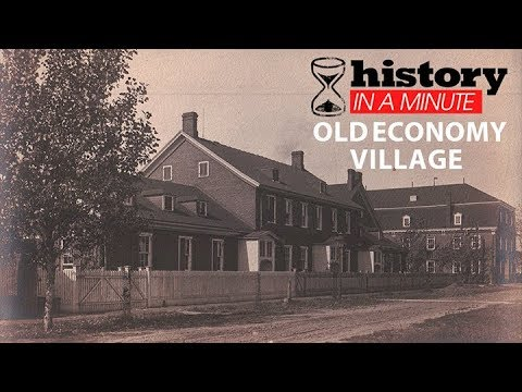Old Economy Village Christmas 2021 History In A Minute Old Economy Village Youtube