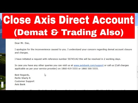 How to close my axis bank account online