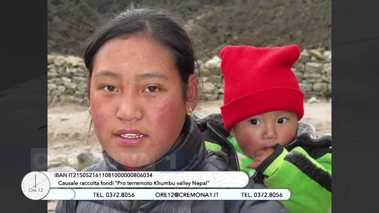 La Terra Degli Sherpa.A Ore12 Floriano Castelnuovo Con La Moglie Sherpa Doma E Andrea