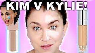 KKW BEAUTY v KYLIE COSMETICS CONCEALER BATTLE! Which one is better!? | Beauty Banter