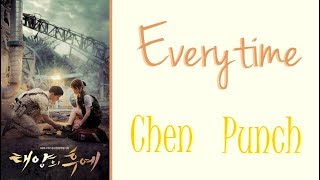 EXO Chen ft Punch  - Everytime [Han|Rom|Vostfr]