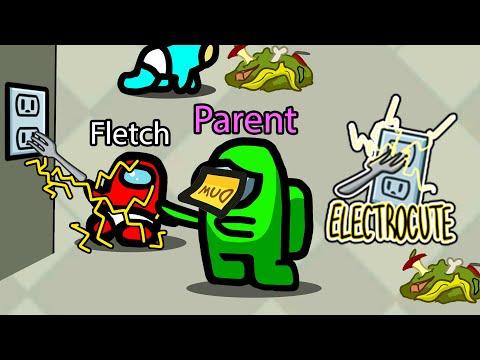 Among Us PARENTS & BABIES Mod! (Baby vs Parents Mod) - Sub & Fletch