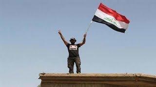 #الشرطة_العراقية تنجز مهامها القتالية في الزنجيلي وترفع العلم فوق مبانيها
