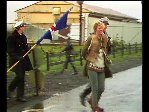 Heimavarnarliðið í átökum - Myndbrot 1989